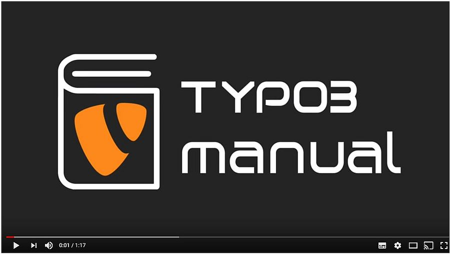 Embed Youtube videos in TYPO3 | TYPO3manual com