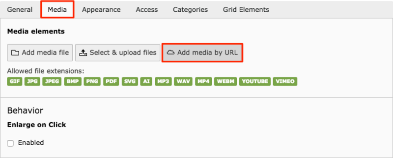 Adding Youtube video in a media element | TYPO3manual com